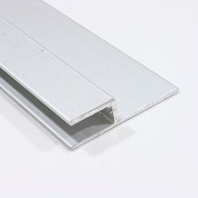 Horizontal joint edge moulding